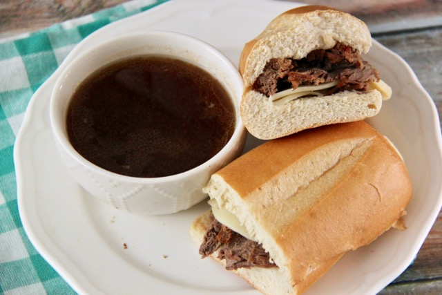Yummy Instant Pot French Dip