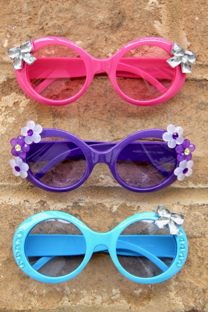 Embellished Rock Star Sunglasses