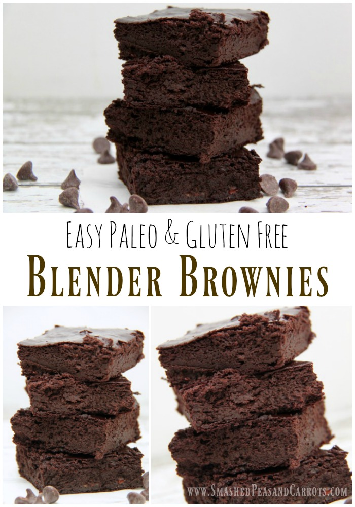 Easy Paleo and Gluten Free Blender Brownies