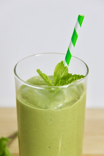 Easy Shamrock Smoothie