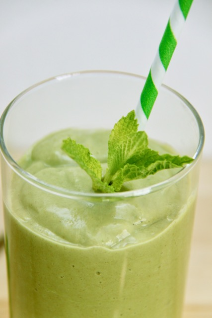 Paleo Shamrock Smoothie