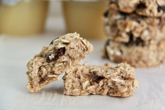 Gluten Free Vegan Oatmeal Raisin Cookies