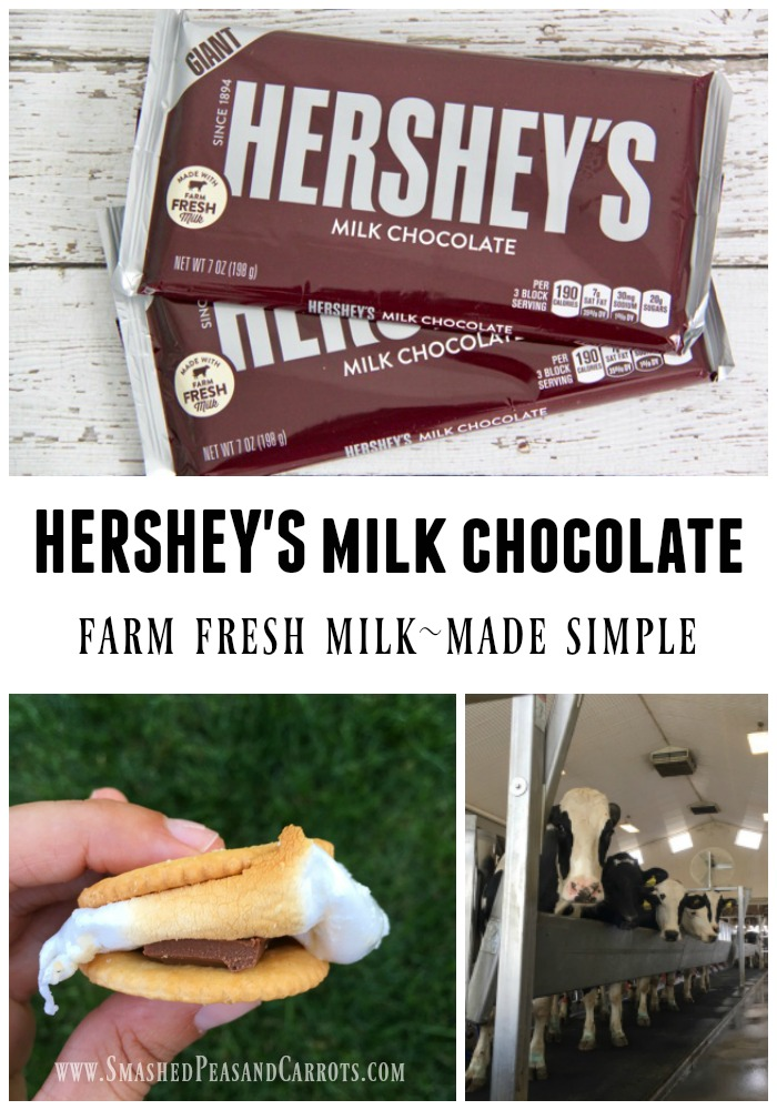 Hershey's Milk Chocolate Farm Fresh Milk