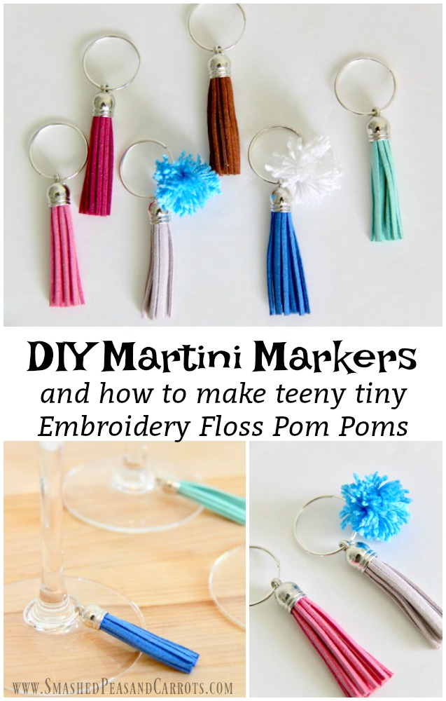 DIY Martini Markers