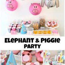 Elephant and Piggie Party PLUS Giveaway!