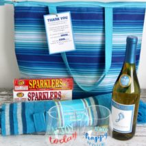 The Best Teacher Appreciation Wine Gift with Free Printable