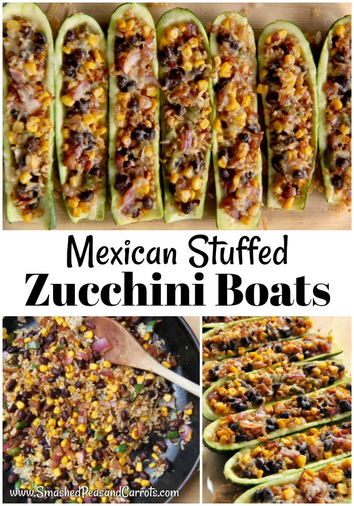 Mexican Stuffed Zucchini Boats