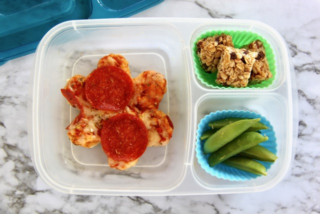 Cookie Cutter Mini Pizza Bento Lunch