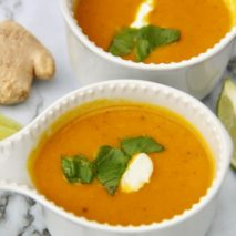 Ginger Carrot Soup