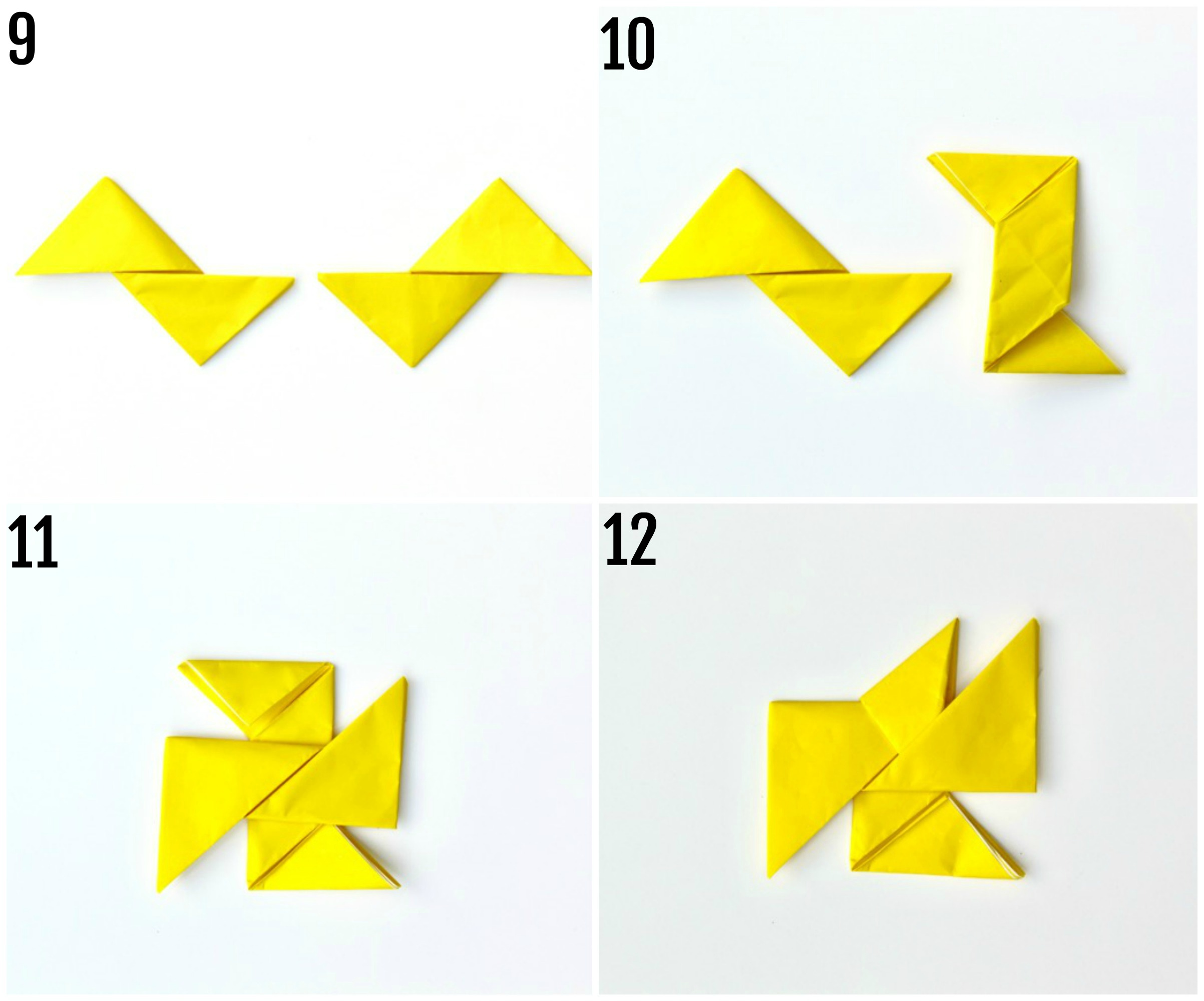 paper ninja star instructions