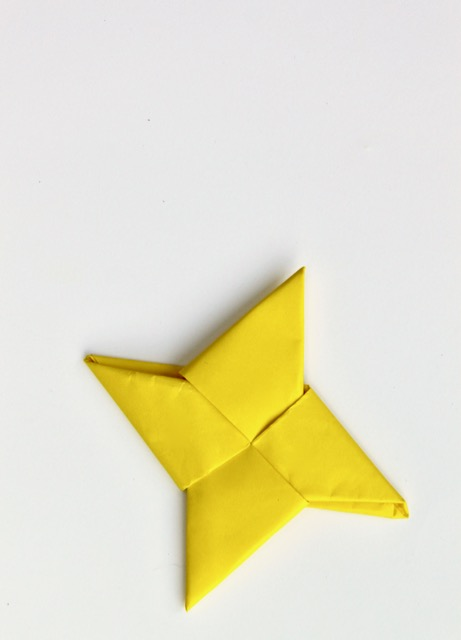Origami Ninja Throwing Star