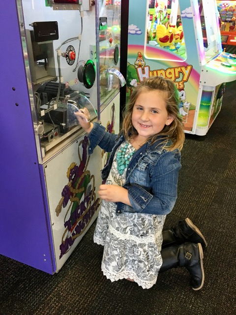 Food and Fun at Chuck E. Cheese's