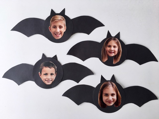 Spooky Bat Photo Craft