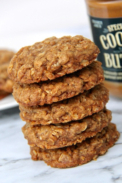 3 Ingredient Cookie Butter Cookies
