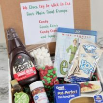 Elf Movie Spaghetti Recipe Gift Idea
