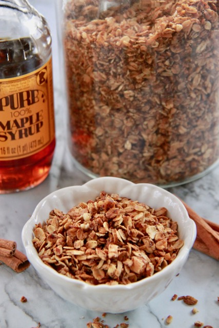 The Best Homemade Gluten Free Granola
