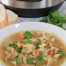 The Ultimate Instant Pot Chicken Noodle Soup