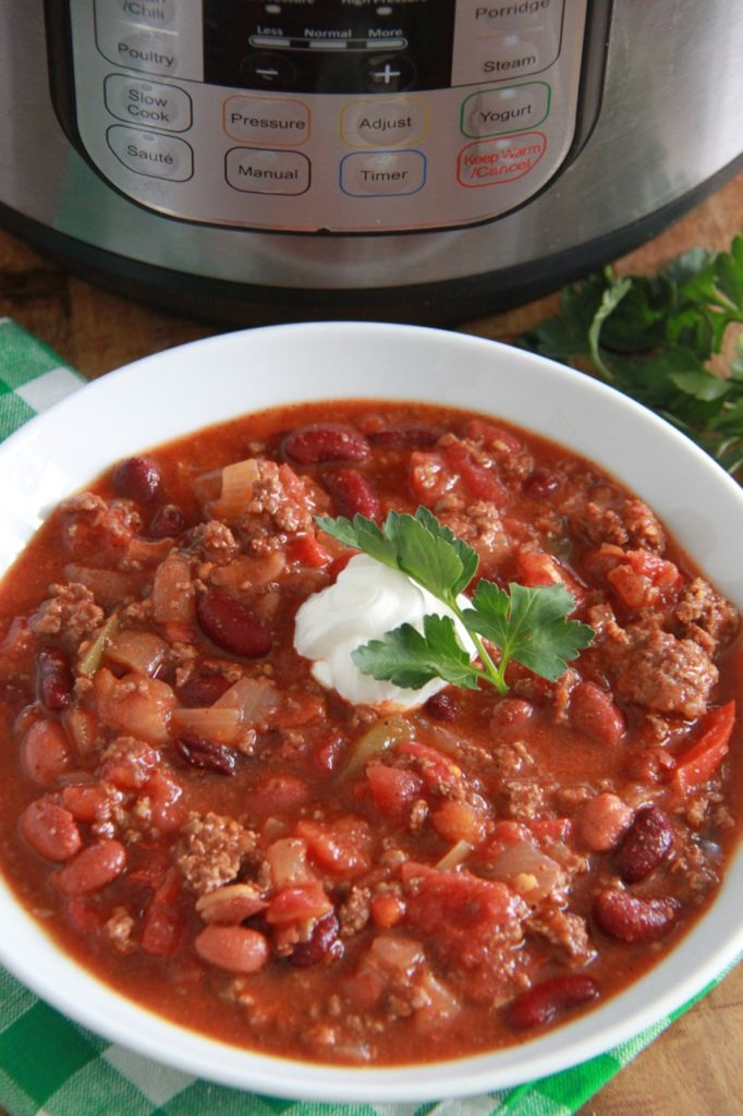The Ultimate Instant Pot Chili