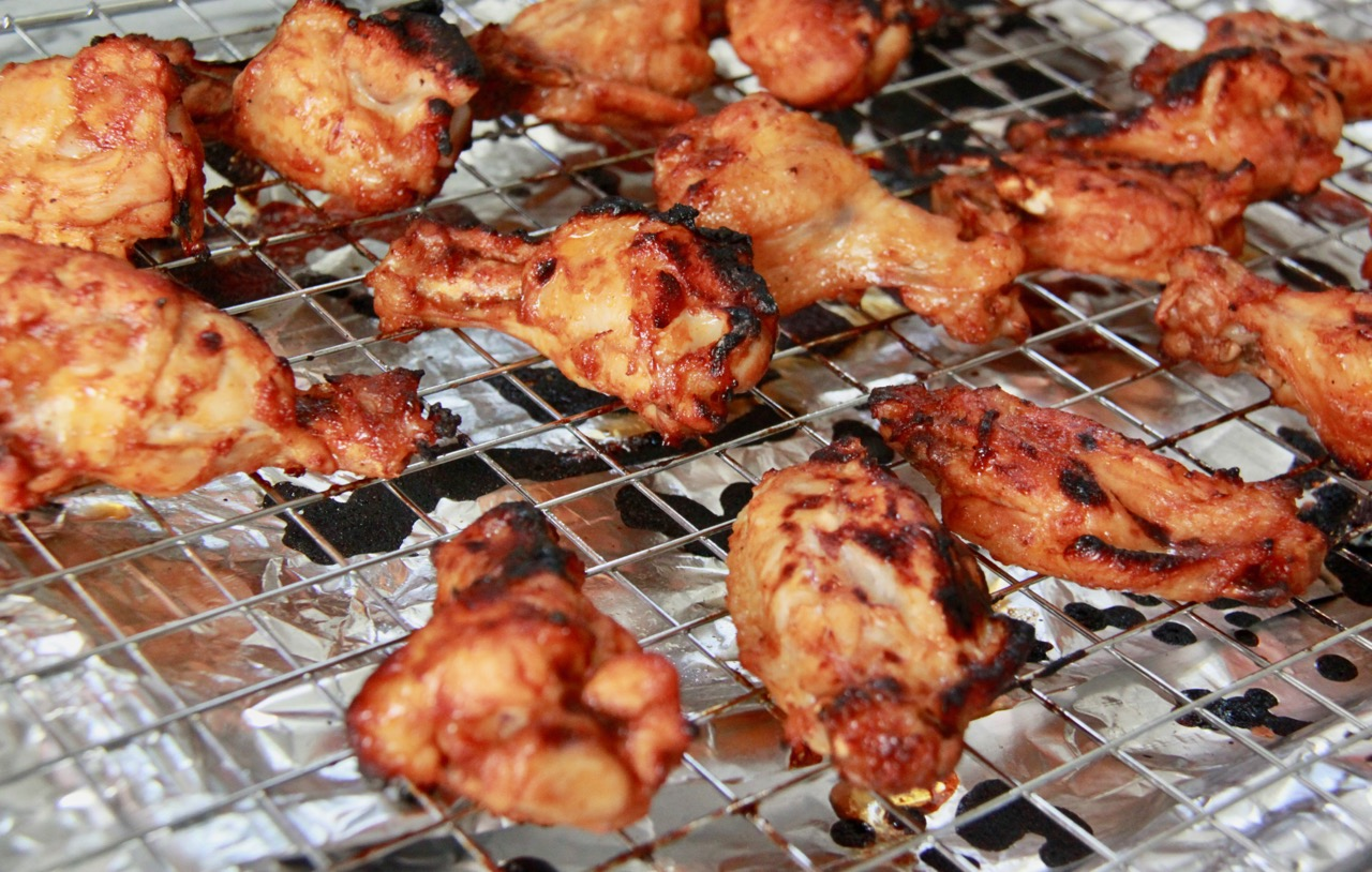 how to make wings in the oven honey bbq