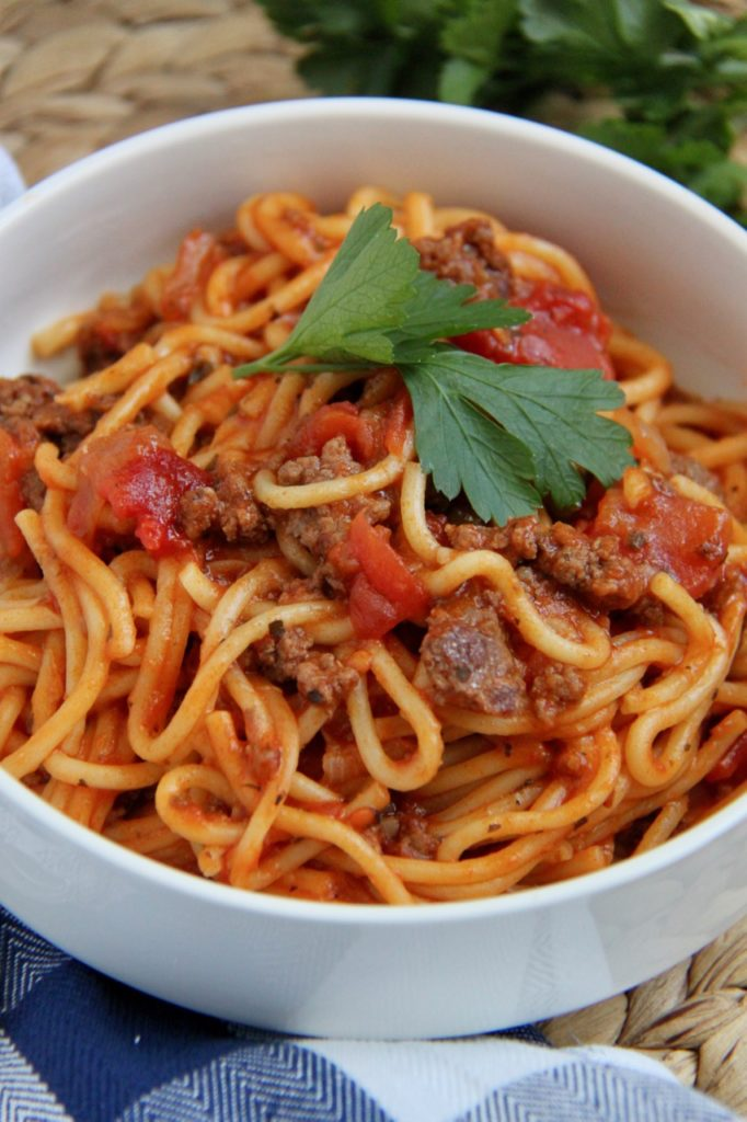 The Best Ever Instant Pot Spaghetti