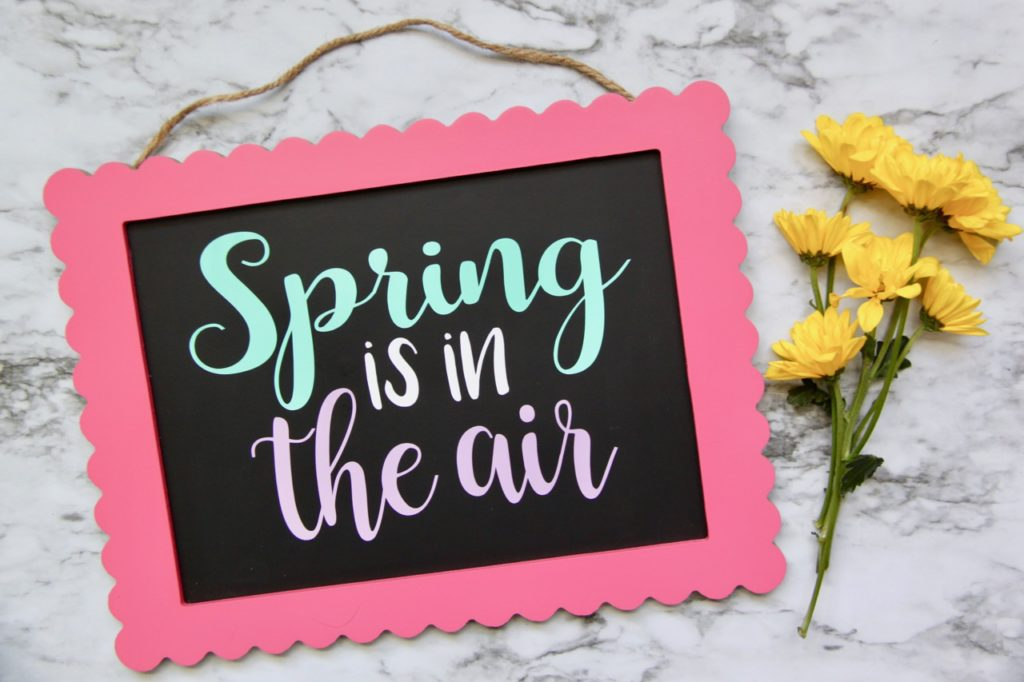 'Spring is in the Air' Free Silhouette Cut File