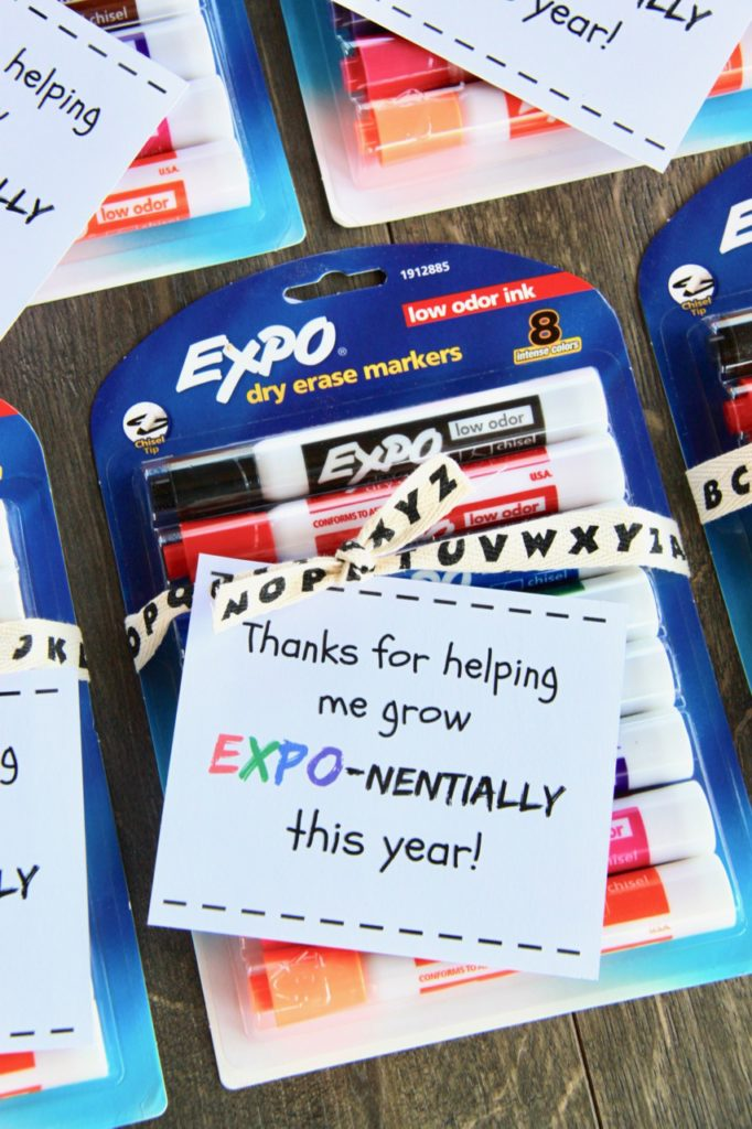 Expo Marker Teacher Gift Idea