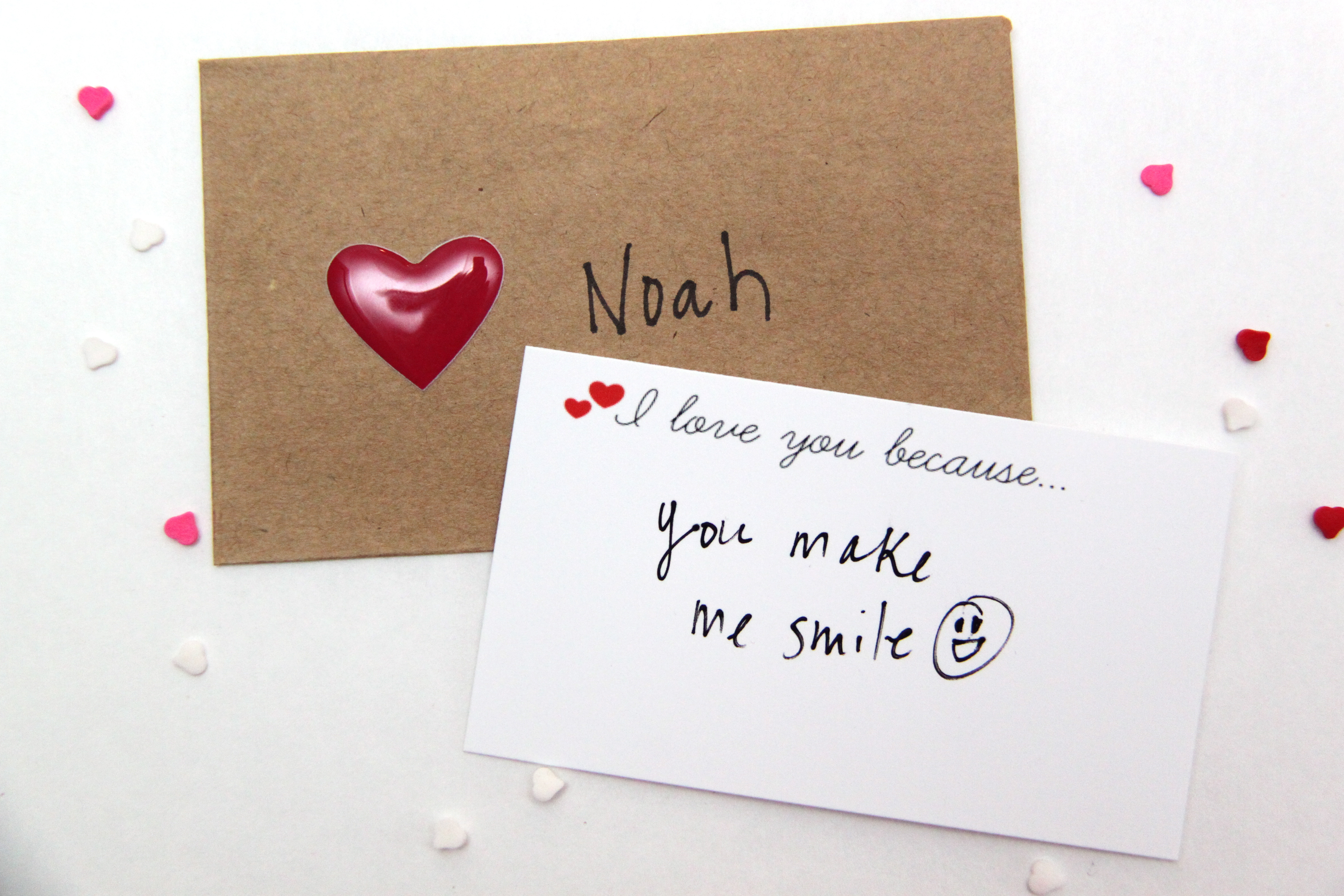 I Love You Because...Free Printable Notecards - Smashed ...