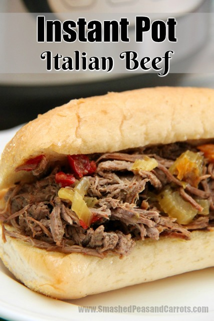 Instant Pot Italian Beef Smashed Peas Amp Carrots